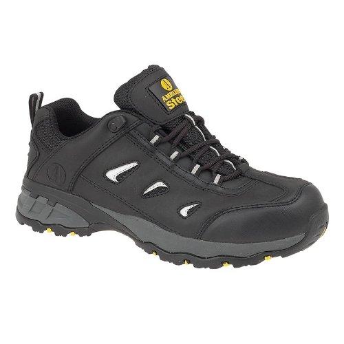 Chaussures de sécurité Amblers Steel FS189 pour homme Noir