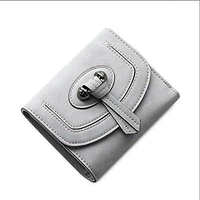 ZLR Mme portefeuille New Lady Wallet Short Paragraph Portefeuille à la mode Trois Fold Ladies