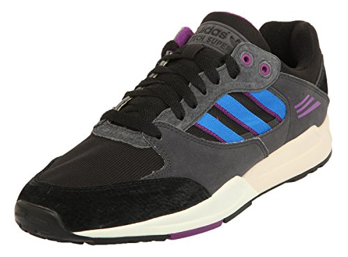 adidas Tech Super SCHWARZ M22559 Black/Bluebird DRg3Q