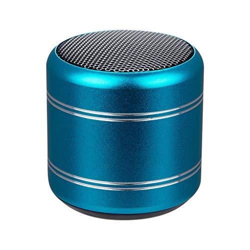 CHshe®-★-C15 Mini Tragbarer Bluetooth-Lautsprecher, Mini Bluetooth-Lautsprecher, Sehr Kleines Und Leistungsstarkes Kabelloses Audio Für 4 Stunden (Blau)