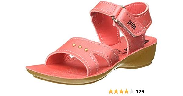 VKC Pride Girl's Pink Outdoor Sandals