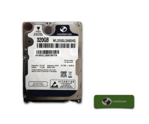 Mediamax 320GB interne Festplatte 2.5