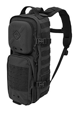 Hazard 4 Plan-C Dual Strap Daypack Schwarz, Schwarz -