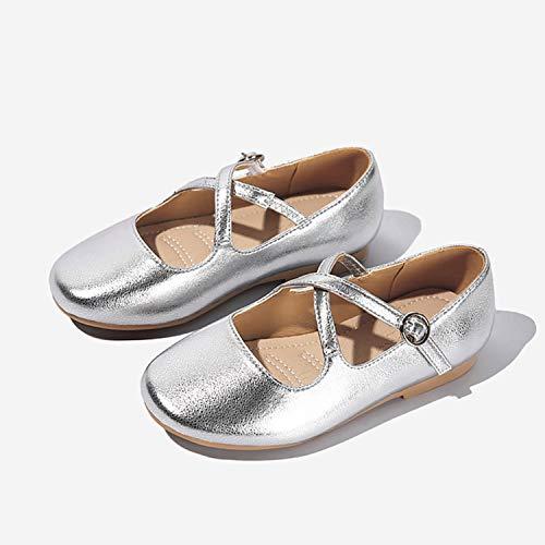 AIBAB Kinderschuhe Prinzessin Schuhe Weicher Boden Mode Kinderschuhe Party Geschenk Gold (Kleinkind Gold Ballerinas)