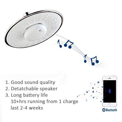 Zoom IMG-1 soffione doccia musica con altoparlante