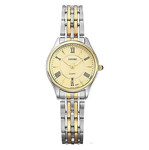 XXFFH Montre Casual Digital Mechanical Solar Imperméabiliser Les Hommes Non Mécanique Seiko En Acier Inoxydable Bracelet Quartz Watch , A