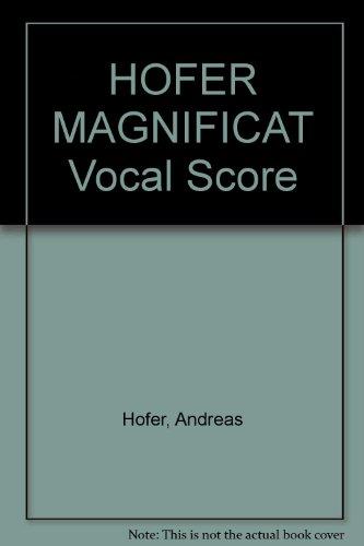 hofer-magnificat-vocal-score