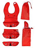 Baby Oodles Foldable Silicon Bib Pouch S...