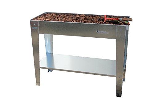 Geiger Metallbau GmbH BioDesign Hochbeet Palatino 100x40x80 cm