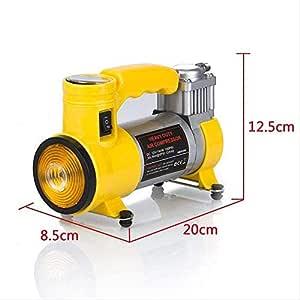 Sankirtan 12V Portable Air Compressor Pump, Inflator Kit for Car, Ball, Bicycle (150 PSI)