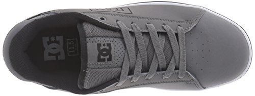 DC Skateboard Shoes NOTCH BLACK/BLUE Grau/Weiß
