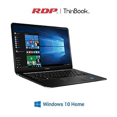 RDP Thin Book -1430 14.1-inch Laptop (Intel Quad Core up to 1.84 GHz / 2GB RAM / 32GB Storage) - Windows 10,(Black)