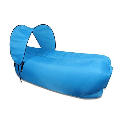 MOYUN Luftsofa Tragbarer Luft-Couch, Air Schlafsofa Wasserdichtes aufblasbares Sofa, Outdoor Indoor Air Schlafsofa Luftmatratzen Couch Bett, Wasserdicht