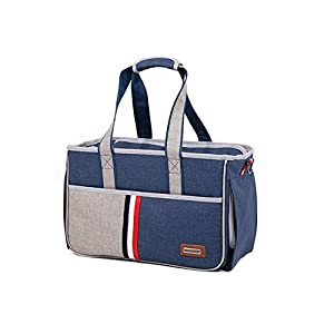 BENWEI-Classics-High-quality-Pet-CarrierPortable-Dog-Cat-Handbag-Outdoor-Soft-Sided-Pet-Shoulder-Bag-Foldable-Travel-ToteUnder-Seat-Pet-Travel-CarrierPet-Carrier-for-Small-Cats-and-Dogs