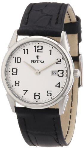 Festina Women's Quartz Watch F16519/1 with Leather Strap