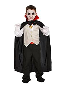 Henbrandt FANCY DRESS CHILD VAMPIRE CLASSIC SMALL 4-6 YRS