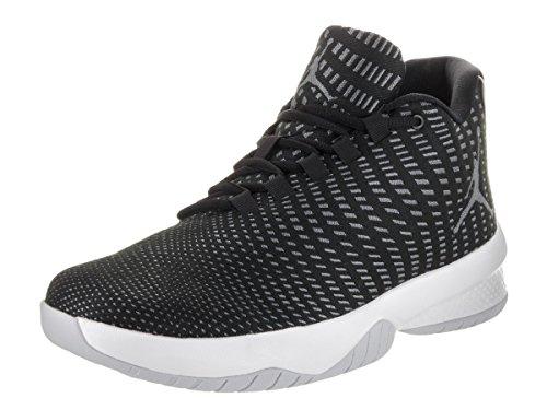 Nike Schuhe Jordan B. Fly Herren black-dark grey-pure platinum-white (881444-011), 42, schwarz