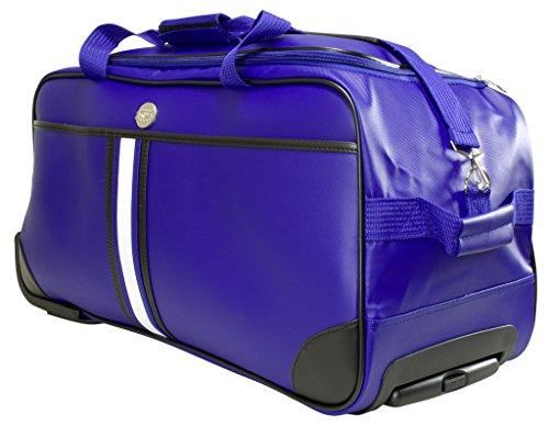 Trolleytasche Weichgepäck ca.70x32x34cm ca.77 Liter Farbe blau Material abwaschbares Tarpaulin Trendyshop365