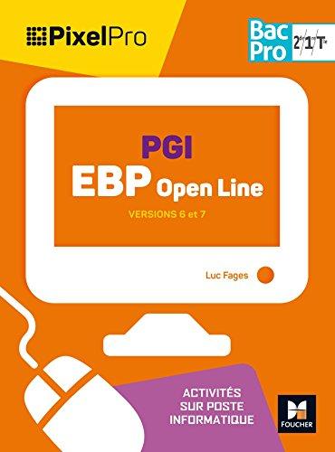 Pixel Pro - PGI EBP Openline - 2de/1re/Tle BAC PRO