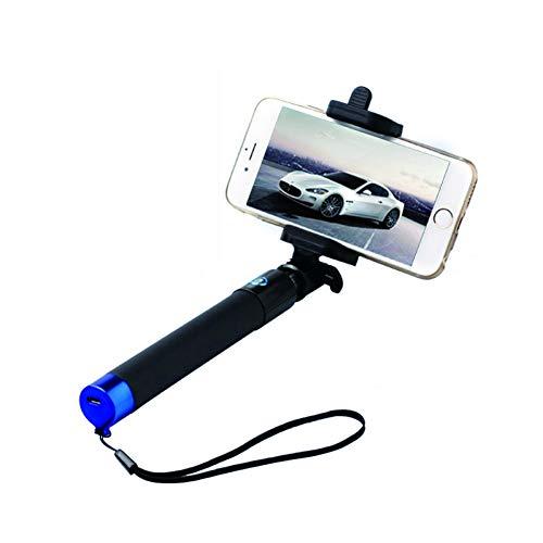 LSDRHTJ Universal Selfie Stick Trépied Bluetooth pour Samsung S6 Android Iphone 5c 5s 6 6s Plus Huawei Perche Selfie sans Fil Monopod