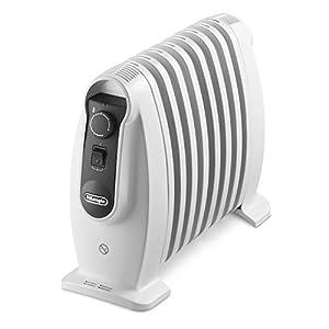 Radiador eléctrico de Longhi trns0808m–800W 8elementos volumen calefactable 25m³