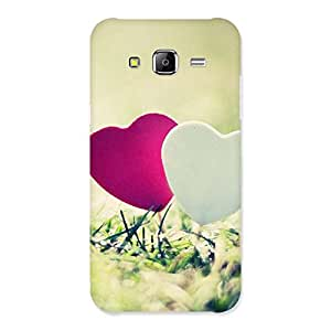 Couple Heart Back Case Cover for Samsung Galaxy J5