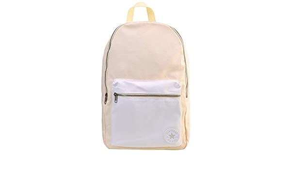 Converse All Star Core Canvas Backpack Bag Barley Organic Cream White   Amazon.co.uk  Shoes   Bags 895b746ffbc02