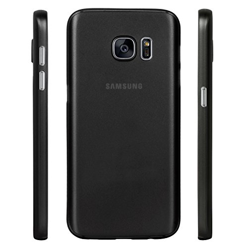 Galaxy S7 Case, Defender Slim Matte Shell Case for Samsung Galaxy S7 (Black)