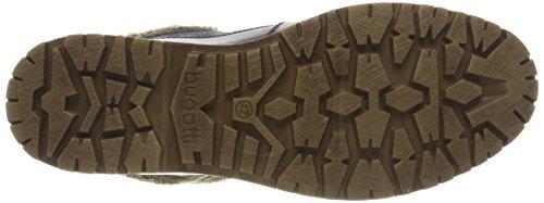 Bugatti Herren 323395502269 Combat Boots Schwarz (Black/Grey)