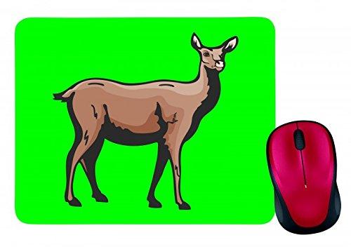 alfombrilla-de-raton-lamas-esta-mirando-camel-par-de-hofer-en-negro-blanco-y-azul-de-color-rosa-de-a