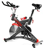 Hop-Sport Indoor Cycle HS-075IC Indoorcycling Speedbike Schwungrad 24 kg Pulsmessung Transportrollen Bluetooth 4.0