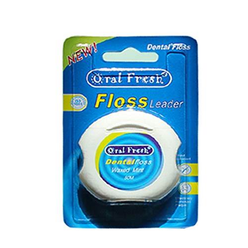 Entfernen Sie Zahnstein Adsorption Mint Flavor Micro-Wax Drahtseide (50 M) -