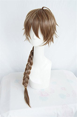 LanTing Cosplay Perücke Dream World & 100 Sleeping Princes Cheshire Cat Brown Mix Braid Lange Perücke Cosplay Party Fashion Anime Human Costume Full wigs Synthetic Haar Heat Resistant (Men's Cheshire Cat Kostüm)