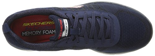 Skechers Herren Flex Advantage 2.0-Golden Point Sneaker Blau (Nvrd)