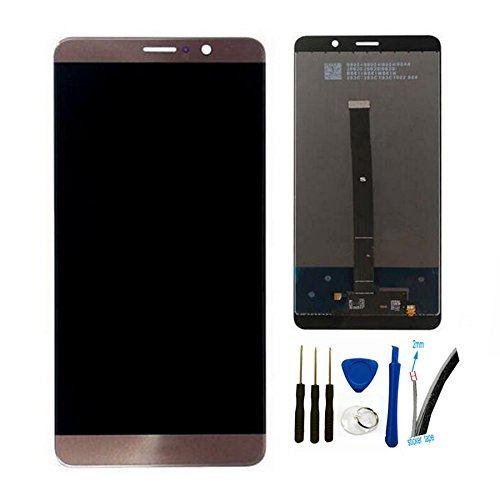 General Pantalla Táctil LCD de Digitalización Asamblea Pantalla de Recambio Para Huawei Mate 9 mate9 MHA-L09 MHA-L29 (Mocha oro)