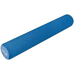Tunturi-Fitness Yoga Rodillo para Masaje, Adultos Unisex, Azul, 90 cm