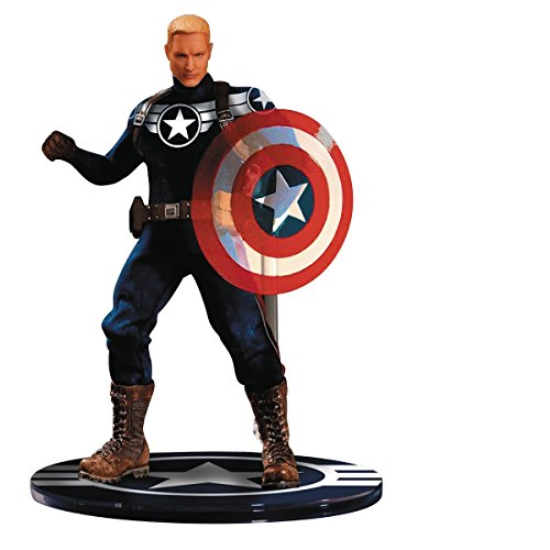 Mezco Toys one-12 Collective Marvel Commander Rogers Action ()