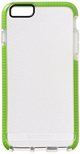 Tech21Evo Mesh Sport für iPhone 6Plus, transparent/lime grün (Evo 21 Plus Tech 6 Mesh)