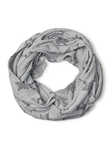 Cecil Damen 570766 Schal, Mehrfarbig (Mineral Grey Melange 30327), One Size (Herstellergröße: A)