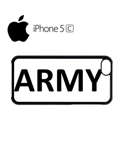 Army Soldier Mobile Cell Phone Case Cover iPhone 5c Black
