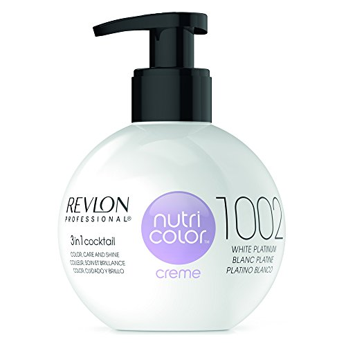REVLON PROFESSIONAL Nutri Color Creme Nr. 1002 ,White Platinum, 270 ml