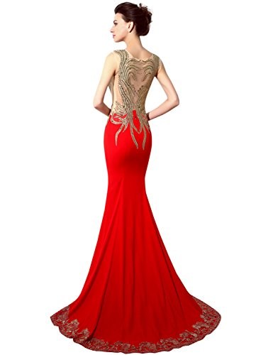 Sarahbridal Damen Kleid Violett - Violett