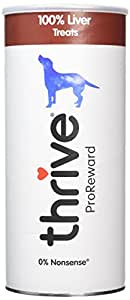 Thrive ProReward 100% Liver Treats for Dogs - 500g MaxiTube
