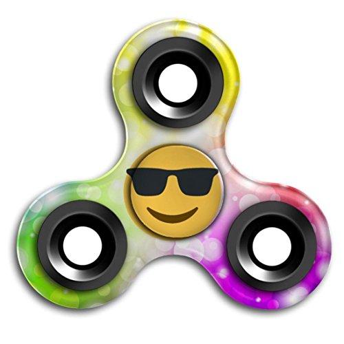 Preisvergleich Produktbild Saingace Emoji Tri-Spinner Fidget EDC Handspinner Anti Stress Fingerspitzen Gyro Spielzeug