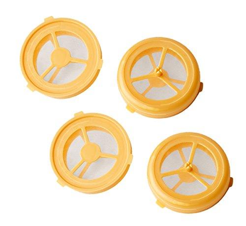 UPP Kaffee Pads 4 Stück wiederbefüllbar / Permanent Kaffeemaschinen Pads / Senseo Ersatzpads