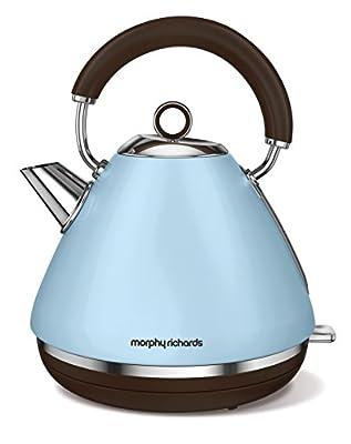 Morphy Richards 102100 Retro Accents bouilloire électriques 2200 W, 1.5 liters, Bleu