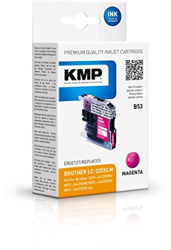 Preisvergleich Produktbild KMP Tintenkartusche für Brother DCP-J4120DW / MFC-J4420DW , B53, magenta