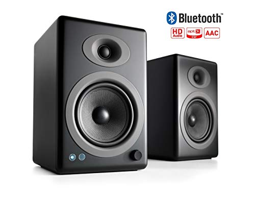 Audioengine A5+ Wireless Powered Speakers (Pair) - Black