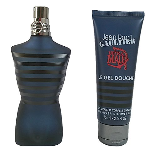 Jean Paul Gaultier Ultra Male Set mit Shower Gel 75ml + 10ml