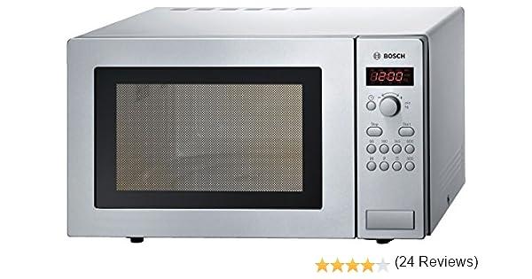 Bosch HMT75M451 Four micro-ondes 17 l 800 W Argent  (Import Allemagne ) 13599772b5d6